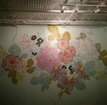 alessandra bridal mural